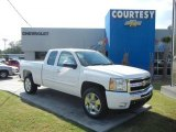 2011 Summit White Chevrolet Silverado 1500 LT Extended Cab #55622387