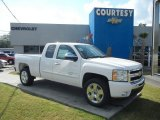 2011 Summit White Chevrolet Silverado 1500 LT Extended Cab #55622386