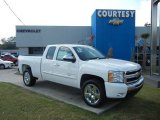 2011 Summit White Chevrolet Silverado 1500 LT Extended Cab #55622385