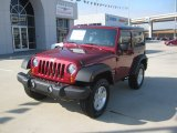 2012 Deep Cherry Red Crystal Pearl Jeep Wrangler Sport S 4x4 #55622156