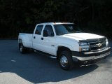 2006 Summit White Chevrolet Silverado 3500 LT Crew Cab 4x4 Dually #55622332
