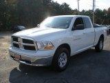 2011 Bright White Dodge Ram 1500 SLT Quad Cab 4x4 #55621911