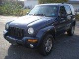 2002 Patriot Blue Pearlcoat Jeep Liberty Limited 4x4 #55621909