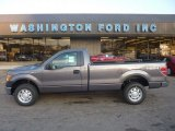 2011 Sterling Grey Metallic Ford F150 XL Regular Cab 4x4 #55622105