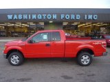 2011 Race Red Ford F150 XLT SuperCab 4x4 #55622104