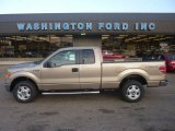 2011 Pale Adobe Metallic Ford F150 XLT SuperCab 4x4 #55622102