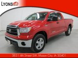 2011 Radiant Red Toyota Tundra SR5 Double Cab 4x4 #55621579