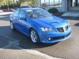 2009 Stryker Blue Metallic Pontiac G8 Sedan #55622092
