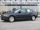 2001 Orient Blue Metallic BMW 3 Series 325i Sedan #55622087