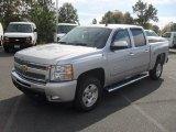 2011 Sheer Silver Metallic Chevrolet Silverado 1500 LT Crew Cab #55622267