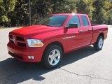 2012 Flame Red Dodge Ram 1500 Express Quad Cab #55622259