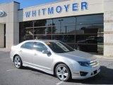 2010 Brilliant Silver Metallic Ford Fusion Sport AWD #55658315
