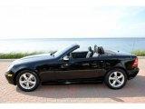 2002 Mercedes-Benz SLK Black