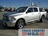 2010 Bright Silver Metallic Dodge Ram 1500 Big Horn Crew Cab 4x4 #55658302