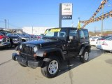 2011 Black Jeep Wrangler Sport 4x4 #55658057