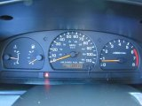 1998 Nissan Frontier XE Extended Cab 4x4 Gauges