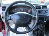 1998 Nissan Frontier XE Extended Cab 4x4 Dashboard