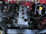 1998 Nissan Frontier XE Extended Cab 4x4 2.4 Liter DOHC 16-Valve 4 Cylinder Engine