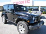 2012 Black Jeep Wrangler Rubicon 4X4 #55658051