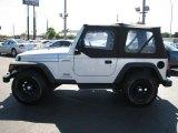 2004 Jeep Wrangler Bright Silver Metallic