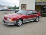 1992 Ford Mustang Wild Strawberry Metallic