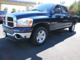 2006 Patriot Blue Pearl Dodge Ram 1500 SLT Quad Cab #55658488