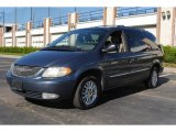 2001 Chrysler Town & Country Patriot Blue Pearl