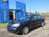2007 Dark Blue Metallic Chevrolet Malibu LS Sedan #55657974
