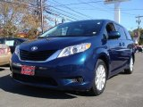 2011 South Pacific Blue Pearl Toyota Sienna LE AWD #55658469
