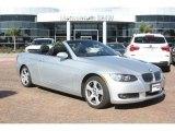 2008 Titanium Silver Metallic BMW 3 Series 328i Convertible #55658225