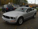 2006 Satin Silver Metallic Ford Mustang V6 Premium Coupe #55658440