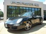 2007 Black Porsche 911 Carrera 4S Cabriolet #55658439