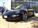 2007 Black Porsche 911 Carrera Cabriolet #55658438