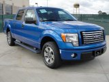2011 Blue Flame Metallic Ford F150 XLT SuperCrew #55658080