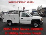 2007 Summit White GMC Sierra 2500HD Classic Regular Cab Chassis #55709616