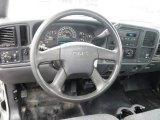 2007 GMC Sierra 2500HD Classic Regular Cab Chassis Steering Wheel
