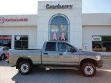 2008 Mineral Gray Metallic Dodge Ram 1500 ST Quad Cab 4x4 #55709069