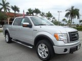 2010 Ingot Silver Metallic Ford F150 FX4 SuperCrew 4x4 #55709034