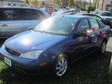 2005 French Blue Metallic Ford Focus ZX4 SE Sedan #55709564