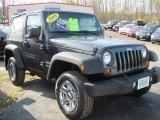 2010 Dark Charcoal Pearl Jeep Wrangler Sport 4x4 #55709549