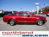 2005 Redfire Metallic Ford Mustang V6 Premium Coupe #55708991