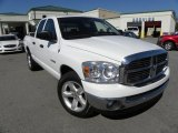 2008 Bright White Dodge Ram 1500 Big Horn Edition Quad Cab #55709247