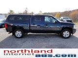 2008 Dark Blue Metallic Chevrolet Silverado 1500 LT Crew Cab 4x4 #55708989