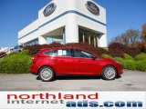 2012 Red Candy Metallic Ford Focus SEL 5-Door #55708986