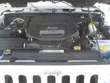 2012 Jeep Wrangler Sahara 4x4 3.6 Liter DOHC 24-Valve VVT Pentastar V6 Engine