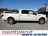 2011 White Platinum Metallic Tri-Coat Ford F150 Platinum SuperCrew 4x4 #55708979