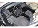 2002 Honda Accord LX Sedan Quartz Gray Interior
