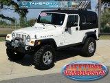 2006 Stone White Jeep Wrangler Unlimited Rubicon 4x4 #55709506