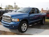 2005 Atlantic Blue Pearl Dodge Ram 1500 SLT Daytona Quad Cab 4x4 #55709505