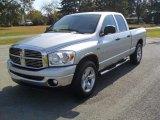 2008 Bright Silver Metallic Dodge Ram 1500 SLT Quad Cab #55709502